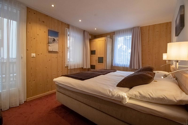 Chalet Alpine Lodge - chambre double
